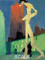 Feininger, Lyonel (1871-1956) The White Man, 1907