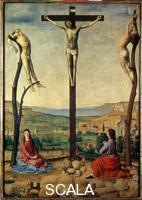 Antonello da Messina (c. 1430-1479) Crucifixion