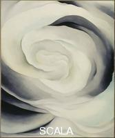 O'Keeffe, Georgia (1887-1986) Abstraction White Rose, 1927