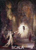 ******** Apparition, 1874, by Gustave Moreau (1826-1898).