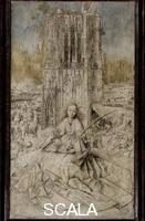 Eyck, Jan van (c. 1390-1441) Saint Barbara