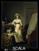 Lemoine, Marie Victoire (1754-1820) Atelier of a Painter, Probably Madame Vigee Le Brun (1755-1842), and Her Pupil
