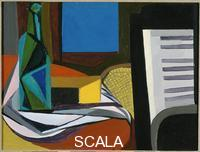 Guttuso, Renato (1912-1987) Still Life with Piano, 1947