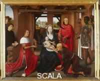 Memling, Hans (1425/40-1494) Floreins Triptych: central panel with Adoration of the Magi
