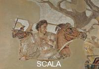 Roman art The Battle of Issus - detail (Alexander)
