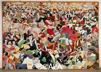 Severini, Gino (1883-1966) Pan-Pan at the 'Monico', 1909 (copy by the artist, 1959)