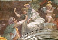 Raphael (1483-1520) Arch with Sibyls - detail (the Persian Sibyl)