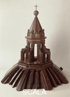 Brunelleschi, Filippo (1377-1446) Wooden model of the lantern of the cathedral dome, c. 1432