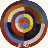 ******** Delaunay, Robert (1885-1941). First Disc; Premier Disque. 1912