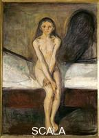 Munch, Edvard (1863-1944) Puberty