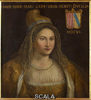 ******** Dogaressa (Duchess). Anonymous painter, Venice, 1596 (Morosina Morosini, wife of Marino Grimani?)