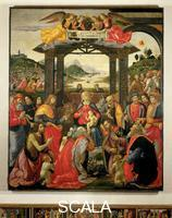 Ghirlandaio, Domenico (Bigordi, Domenico 1448-1494) Adoration of the Magi