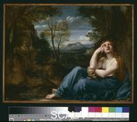Carracci, Annibale (1560-1609) Mary Magdalene in a landscape. 1599