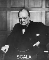 ******** Sir Winston Churchill (1874-1965), English politician, c1950s.