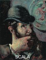 ******** Self-Portrait, 1890s. Found in the collection of the Ohara Museum of Art, Kurashiki. Artist: Guillaumin, Jean-Baptiste Armand (1841-1927)
