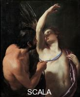 ******** Daedalus and Icarus, c. 1645. Found in the collection of the Musei di Strada Nuova, Genoa. Artist: Sacchi, Andrea (1599-1661)