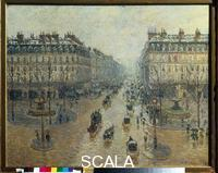 Pissarro, Camille (1830-1903) Avenue de l'Opera in Paris