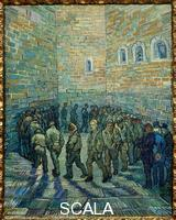 Gogh, Vincent van (1853-1890) Prisoners Exercising (Taking the Air in a Prison Yard)