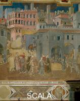 Lorenzetti, Ambrogio (1285-c. 1348) Effects of Good Government in the City - detail