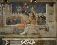 Lorenzetti, Ambrogio (1285-c. 1348) Allegory of Bad Government