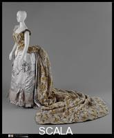 Worth, Charles Frederick (1826-1895) Court Presentation Ensemble, ca. 1888 (Manufacturer: House of Worth, 1858-1956).
