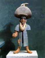 Maya art Statuette called 'El charro'