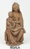 Rossellino, Antonio (1427-1479) The Virgin with the Laughing Child. Florence (Italy), ca. 1465