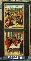 Bouts, Dieric (c. 1415 -1475) Last Supper Triptych: left-hand panel