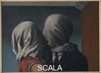 Magritte, Rene' (1898-1967) The Lovers, 1928