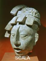 Maya art Head of Pakal the young, from the Temple of Inscription at Palenque