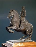 Serpotta, Giacomo (1656-1732) Equestrian monument to Charles II (maquette)