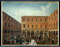 Bella, Gabriel (18th cent.) Clearing Transaction at Rialto, the