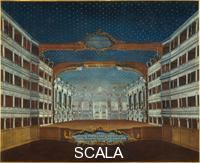 Bella, Gabriel (18th cent.) Scenery and Lighting of the Teatro di San Samuele, the