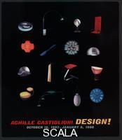 ******** Sticker for the exhibition 'Achille Castiglioni: Design!', MoMA, NY, 1998