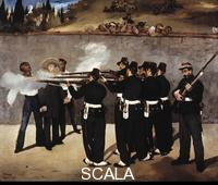Manet, Edouard (1832-1883) The Shooting of the Emperor Maximilian of Mexico, 1867