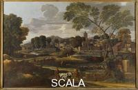 Poussin, Nicolas (1594-1665) Landscape with the Funeral of Phocion