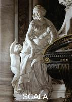 Bernini, Gian Lorenzo (1598-1680) Monument to Urban VIII - d. (Charity)