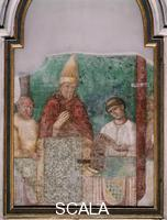 School of Rome Fresco of the Jubilee of Boniface VIII