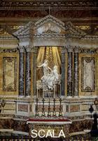 Bernini, Gian Lorenzo (1598-1680) Altar of the Cornaro Chapel