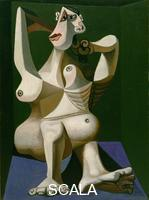 Picasso, Pablo (1881-1973) Woman Dressing Her Hair, Royan, June 1940