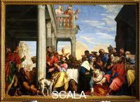 Veronese (Caliari, Paolo called 1528-1588) Feast in the House of Simon the Pharisee