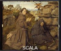 Eyck, Jan van (c. 1390-1441) The Stigmata of Saint Francis