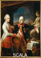 Panealbo, Giovanni (c. 1770-c. 1799) Portrait of Joseph II of Austria and Leopold of Tuscany (copy after Pompeo Batoni)