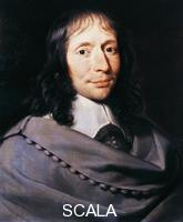 ******** Portrait of Blaise Pascal (Clermont-Ferrand, 1623-Paris, 1662), French mathematician, physicist, philosopher and theologian. Painting by Philippe de Champaigne (1602-1674).