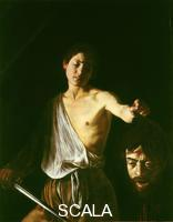 Caravaggio (Merisi, Michelangelo da 1571-1610) David and Goliath