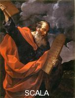 Reni, Guido (1575-1642) Moses with the Tables of the Law