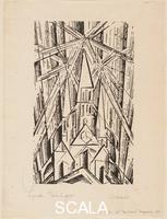 Feininger, Lyonel (1871-1956) Kathedrale (Cathedral), 1919
