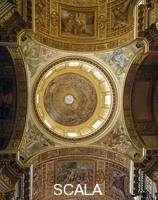 Maderno, Carlo (1556-1629) Dome with frescoes by Giovanni Lanfranco
