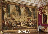 ******** Sala Rossa (Red Room) with Louis XV tapestry