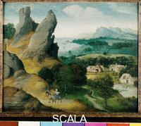 Patenier, Joachim (c. 1485-1524) Landscape with the Flight into Egypt